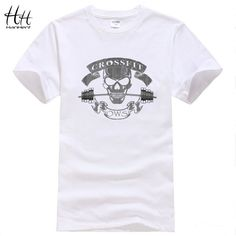 HanHent Crossfit Skull Body building T Shirts https://www.bodybuildingtanks.com
