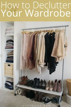 Planning to declutter your wardrobe? Here's some simple steps to make the process easier.