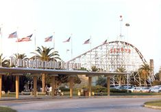 Ponchartrain Beach Amusement Park.  Oh, the FUN we had there!  It closed in 1983.  :(