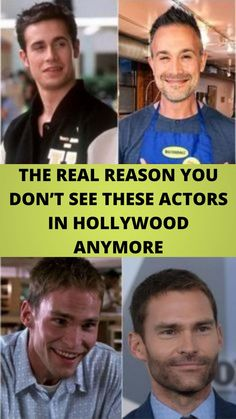 THE #REAL REASON YOU DON'T SEE THESE #ACTORS IN #HOLLYWOOD ANYMORE