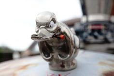 Hood Ornament of Mack Truck in the Movie ' Convoy '