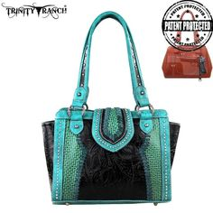 Trinity Ranch Montana West Concealed Handgun Collection Handbag Purse TR32G-8250 #MontanaWest #ShoulderBag