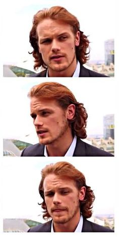 My favourite ginger Sam Heughan