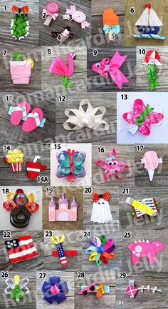 New Fashion Baby Animals Hair Clips Girls Hair Clip Children Hair Bow Kid Grosgrain Ribbon Bows Accessories Gmy From Wall Street, $98.43 | Dhgate.Com