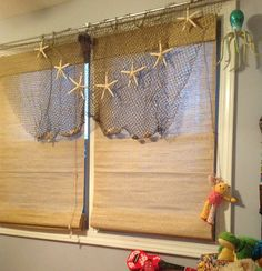 Fish in the curtain rod story curtain menzilperde net for Fish curtains for windows