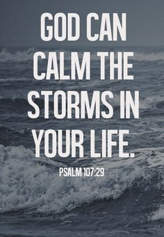 spiritualinspiration:  8 things to Remember during the Storms of Life… 1. God is in full control of the timing and intensity of your trial a...