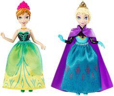 Frozen Coronation Anna and Elsa Small Doll Giftset