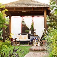 Turn your patio into a secluded spot in the garden with privacy panels: http://www.bhg.com/home-improvement/patio/24-patio-perk-ups/?socsrc=bhgpin060714privatepatio&page=6