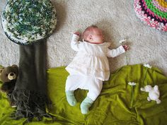 Mila's Daydreams. A mom makes sets on the floor then takes a picture of her baby. It's so cute what she thinks her baby dreams of. <3