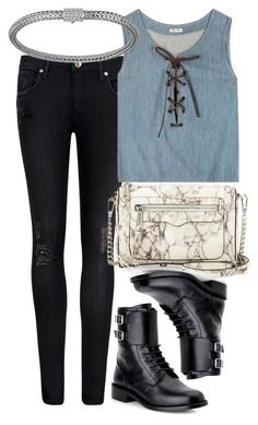 """""""Untitled #4056"""" by style-by-rachel ❤ liked on Polyvore featuring Ted Baker, Miu Miu, Yves Saint Laurent, Rebecca Minkoff and John Hardy"""