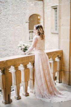 Une mariée au château de Bagnols ©Hé!Capture