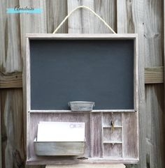 Rustic Entryway Organizer with Key Rack by AnastasiaVintageHome