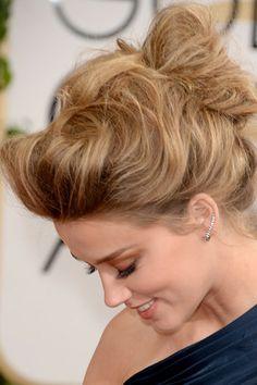 brides of adelaide magazine bridal hair up do golden globes