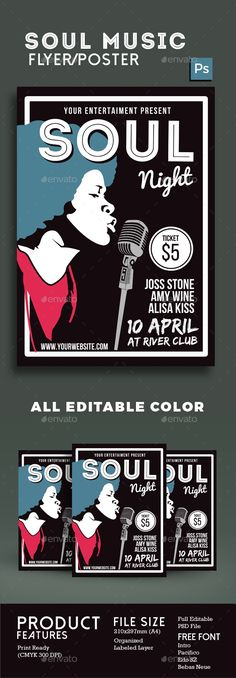 Soul Music Night - Events Flyers                                                                                                                                                                                 Mehr
