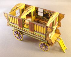 Kelayres Gypsy Wagon, Qtr. Scale- I HAVE to get this kit!