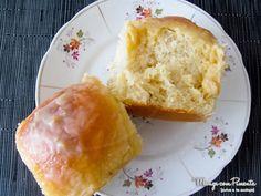 Receita de Pão Doce de Leite Condensado, com gostinho de infância! Clique na imagem para ver a receita no blog Manga com Pimenta.