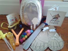 WEEK 5 Flame: Creative Children's Ministry: David and Goliath Story Bag Bible Story Crafts, Bible School Crafts, Preschool Bible, Bible Stories, Sunday School Activities, Sunday School Lessons, Sunday School Crafts, Bible Lessons For Kids, Bible For Kids