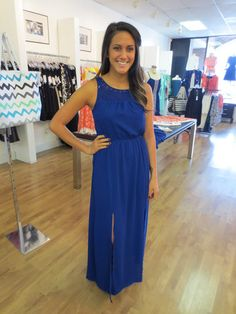 The Buzz Boutique — Meant To Be Royal Maxi Dress In Cobalt Blue
