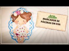 Marca Página de Bonequinha em EVA com Molde Grátis | Revista Artesanato