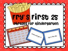 Frys Instant Phrases Kindergarten Edition GAME SHOW for PowerPoint.  $4