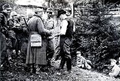 World War II-War in Yugoslavia. War partisans. Fascists and  Germans in 1944 during a raid  in the area of Ljubljana in  Slovenia. Pin by old Paolo Poop Stain Marzioli