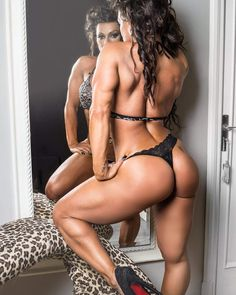 SEXY MUSCULAR THIGHS & DREAM GLUTES of exotic #Fitness model & bodybuilder : if you LOVE Health, Workouts & #Fitspo - you'll LOVE the #Motivational designs at CageCult Fashion: http://cagecult.com/mma