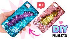 DIY Amazing VIRAL Color-Changing Phone Case!! DIY Mermaid Sequin Phone C...