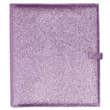 "Light Purple Glitter 1"" Binder Cover"