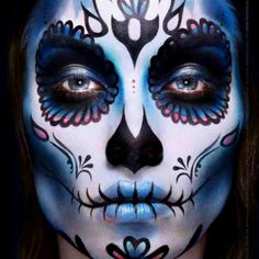 Day of dead makeup#Repin By:Pinterest++ for iPad#