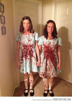 Grady Sisters. Great Halloween costume