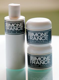 Simone France cleanser and moisturizer (Photo: Elizabeth Lippman for The New York Times)