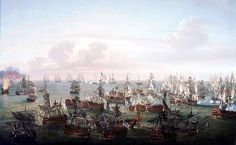 Trafalgar : The end of the battle 21st October 1805 http://www.britishbattles.com/waterloo/battle-trafalgar.htm