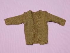 "TONNER 16"" TYLER WENTWORTH BOUTIQUE (?) BROWN CARDIGAN FITS SYDNEY BRENDA STARR #Tonner #ClothingAccessories"
