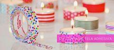 tutorial e ideas para hacer tu misma cinta de tela adhesiva y decorar y personalizar miles de cosas diferentes.