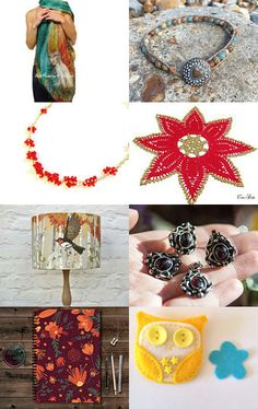 My Favourite Things by @branchbeads  by Sarah Robertshaw on Etsy--Pinned with…