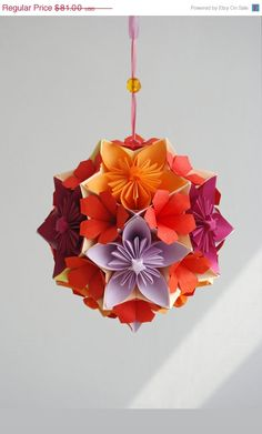 origami paper ball - WaveofLight