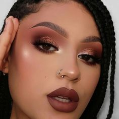 Easy And Attractive Eye Makeup For Beginners Makeup Goals, Makeup Inspo, Makeup Inspiration, Makeup Tips, Beauty Makeup, Makeup Geek, Makeup Ideas, Make Up Looks, Full Face Makeup