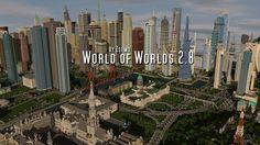 Minecraft   World of Worlds 2.8