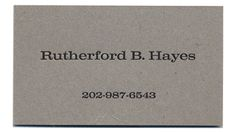 Letterpress Business Card Examples | The United States Business Card Company