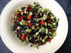 Wild Rice & Edamame Beans Edamame Beans, Wild Rice, Black Eyed Peas, Fruit Salad, Apocalypse, Plant Based, Archive, Challenge, Cooking