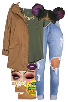 """""""11.2.16"""" by mcmlxxi ❤ liked on Polyvore featuring Vans, Gap, Woolrich, Michael Kors and Lime Crime"""