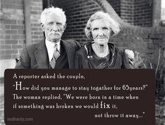 Geloof jij in eeuwige liefde. Deze mensen in ieder geval wel.