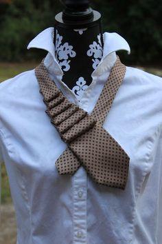 Ruffled Necktie Tutorial | The Good Life Blog