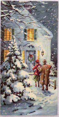 wonderful memories of old christmas cards.