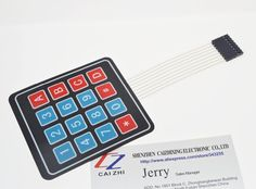 0.65$  Watch here - New 16 Key 4 x 4 Membrane Switch Keypad 4x4 4*4 Matrix Array Matrix keyboard   #SHOPPING
