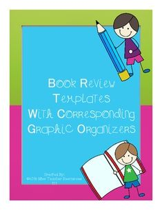 This FREE download is for 6 various book review templates to choose from.  Graphic organizers have been included to correspond with the book review template format to help organize student thinking.  **You can use these different book review templates for student choice, to differentiate for students who have trouble with creative titles, for students who write more or less than others, or as a means of adding variety to the book reviews you will display in your classroom.**Enjoy!
