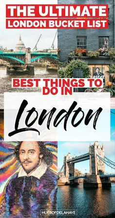 Top things to do in london England - This is filled all the London bucket list things to do in Londo Europe Travel Guide, Europe Destinations, Travel Guides, Holiday Destinations, Travel Advice, Ireland Travel, Italy Travel, Things To Do In London, London Travel