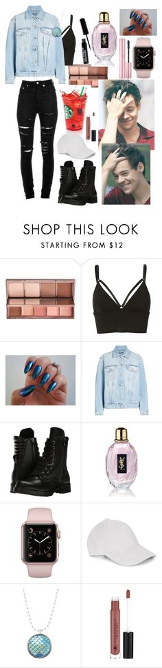 """""""Mermaid nails"""" by isabelalalbarelli on Polyvore featuring Urban Decay, T By Alexander Wang, Alexander McQueen, Yves Saint Laurent, Capezio, Le Amonie e Anastasia Beverly Hills"""