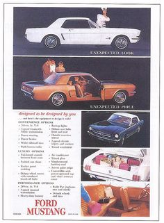 1964 Ford Mustang Ad - USA by aussiefordadverts, via Flickr