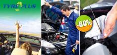 TyrePlus - $319 en lugar de $799 por 1 Paquete de Mantenimiento Integral para tu Vehículo. Click: CupoCity.com